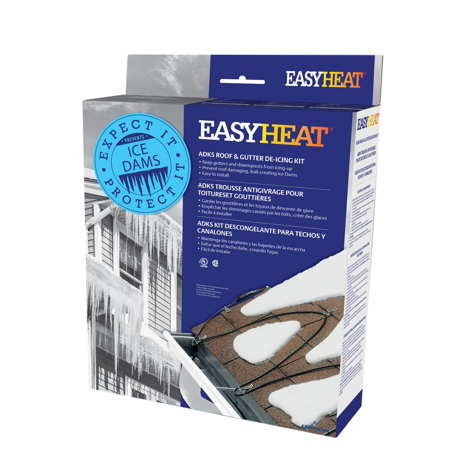 Roof Heat Cable : Shop easyheat adks ft watt roof heat cable at