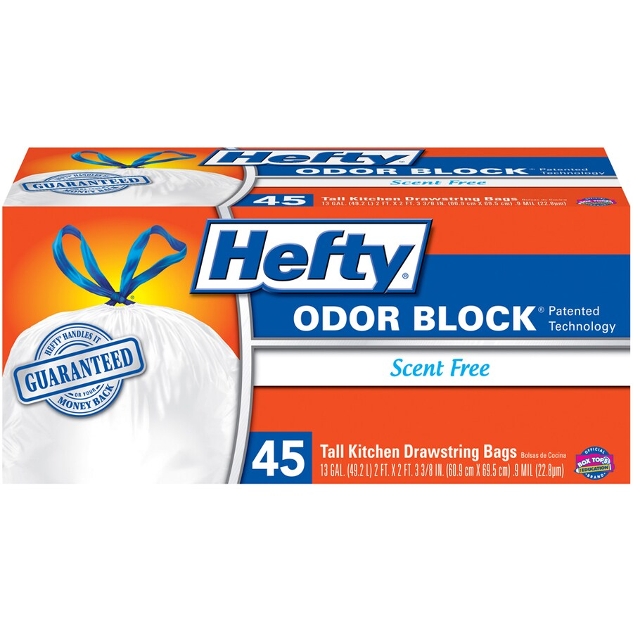 Hefty 45 Count 13 Gallon Trash Bags