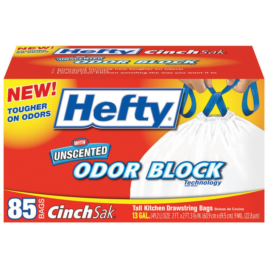 Hefty 85-Count 13-Gallon Indoor Trash Bags