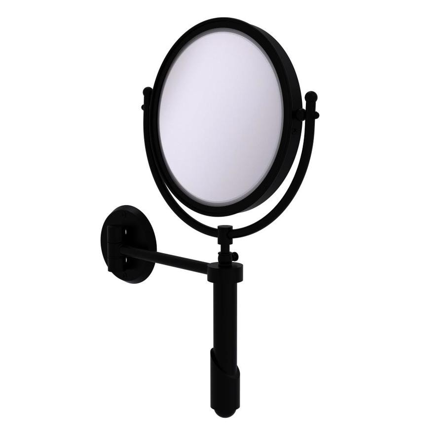 Allied Brass Soho Black Brass Magnifying Wall Mounted