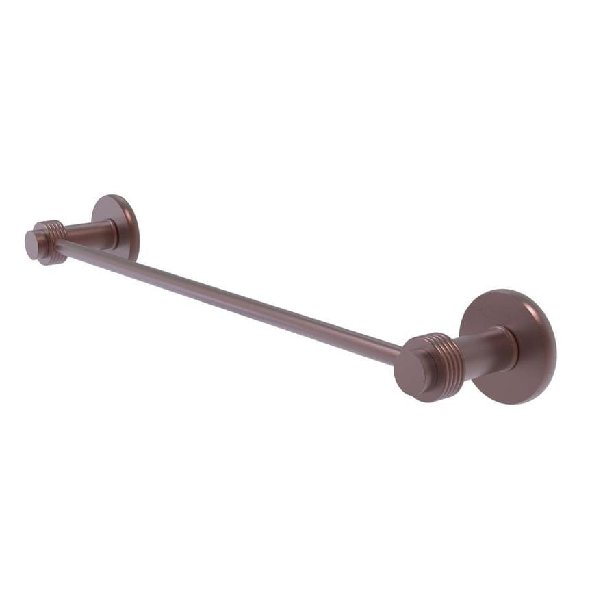 Allied Brass 9072//36-CA Mercury Collection 36 Inch Double Towel Bar Antique Copper