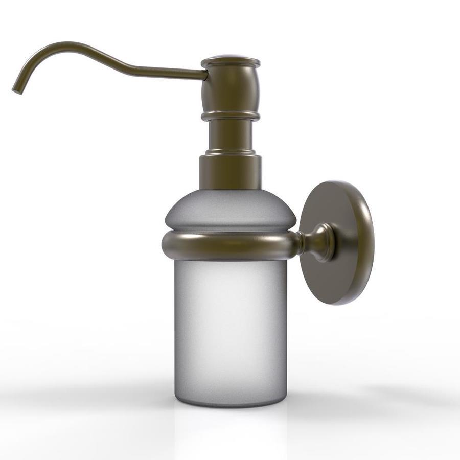 Allied Brass Prestige Skyline Antique Brass Soap Lotion