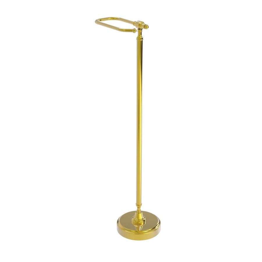 Allied Brass Retro Dot Collection Free Standing Toilet Tissue Holder