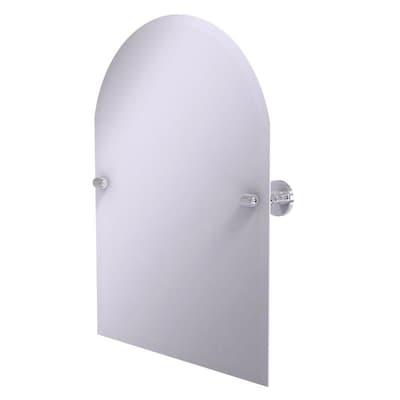 Polished Chrome Arch Frameless Bathroom