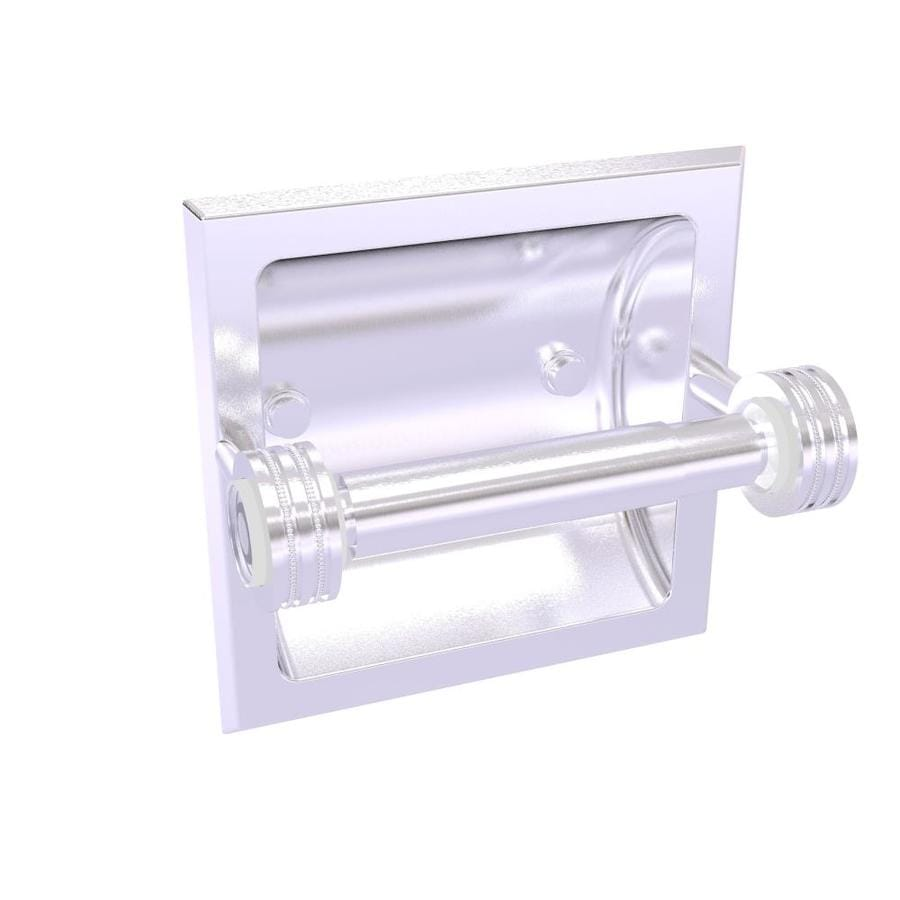 Allied Brass Clearview Collection Recessed Toilet Paper ...