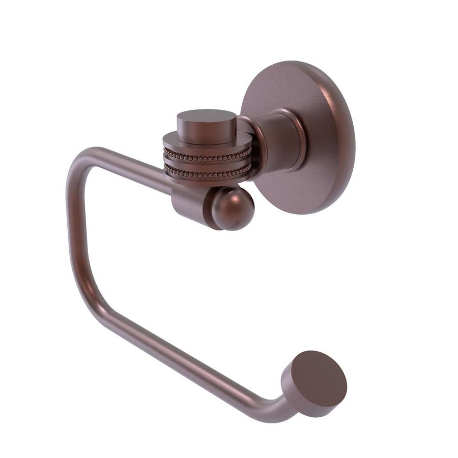 Allied Brass 2024-CA Continental Collection 2 Post Toilet Tissue Holder Antique Copper