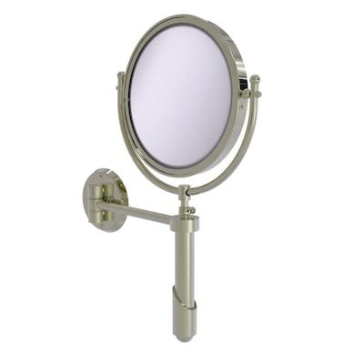 Allied Brass Soho Nickel Brass Magnifying Wall Mounted