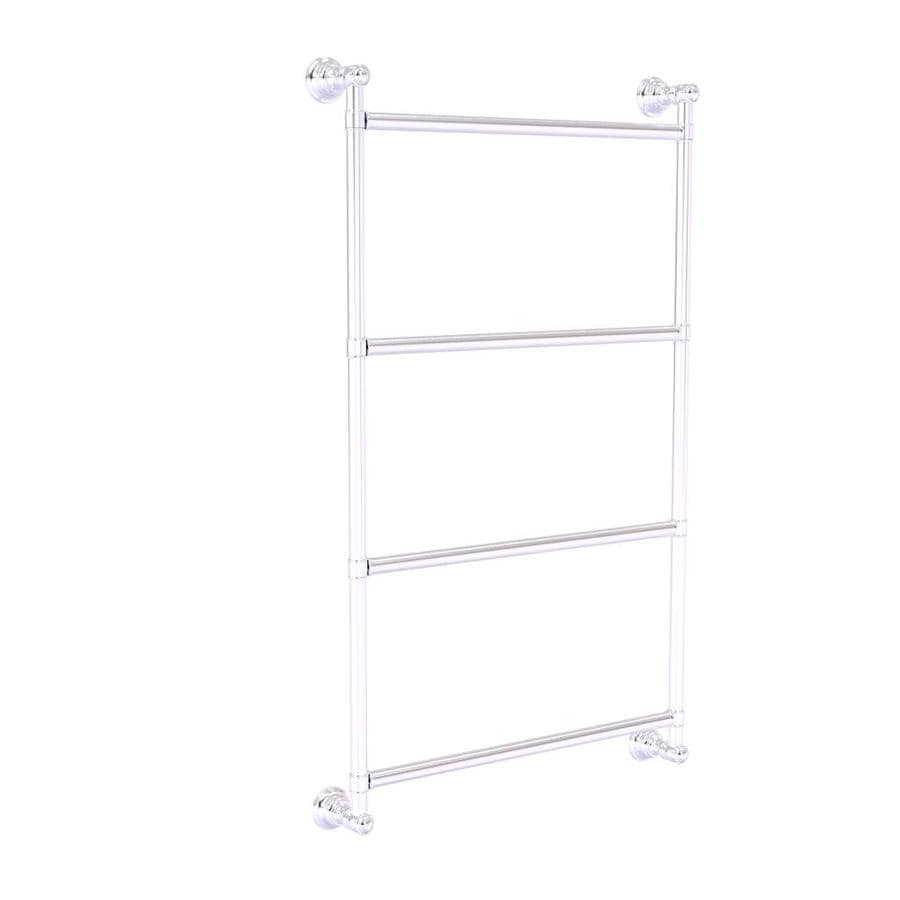 Tools Home Improvement Towel Bars Allied Brass Cv 41t Bb 24 Pni Clearview Collection 24 Inch Back Shower Door Towel Bar With Twisted Accents Polished Nickel