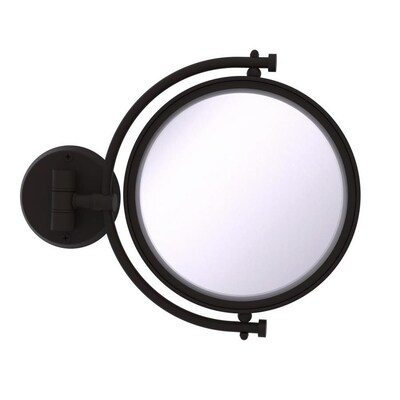 Allied Br 8 In Wall Mounted Make Up Mirror 5x