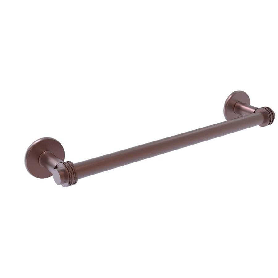 Allied Brass 7272D//18-CA 18 Inch Double Towel Bar Antique Copper
