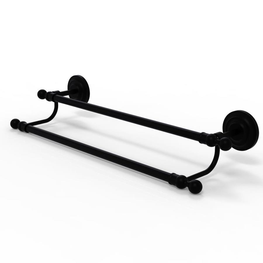 Allied Brass PR-72//36-BKM 36-Inch Double Towel Bar Matte Black