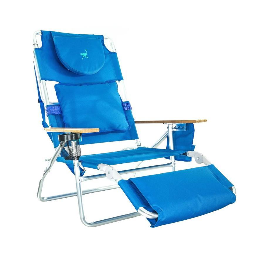 Deltess Ostrich 3N1 Deluxe Beach Lounge Chair