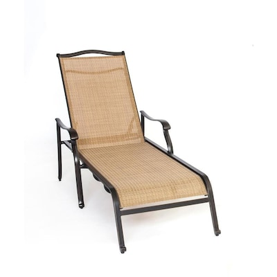 Hanover Monaco Chaise Lounge Chair At Lowes Com