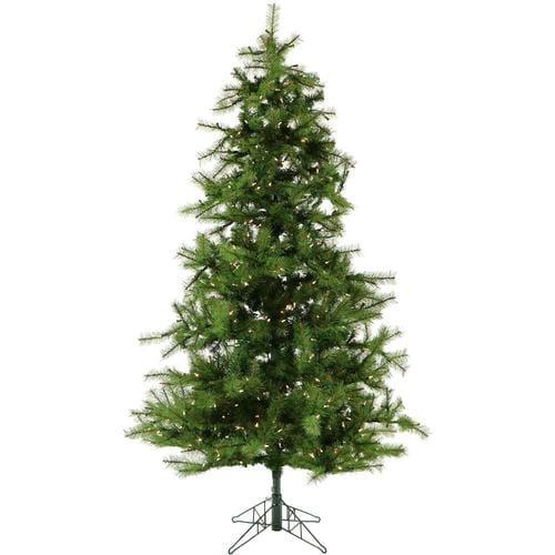 Fraser Hill Farm 9-ft Pre-Lit Pine Artificial Christmas ...