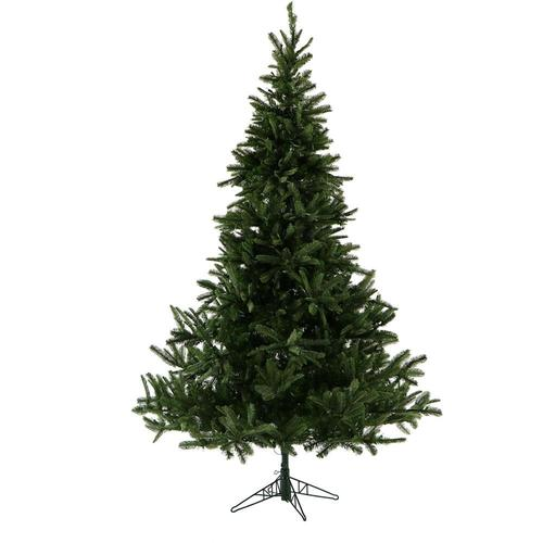 Fraser Hill Farm 7.5-ft Noble Fir Artificial Christmas Tree with 200 at Lowes.com