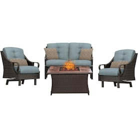Peachy Ventura Patio Furniture Sets At Lowes Com Pdpeps Interior Chair Design Pdpepsorg