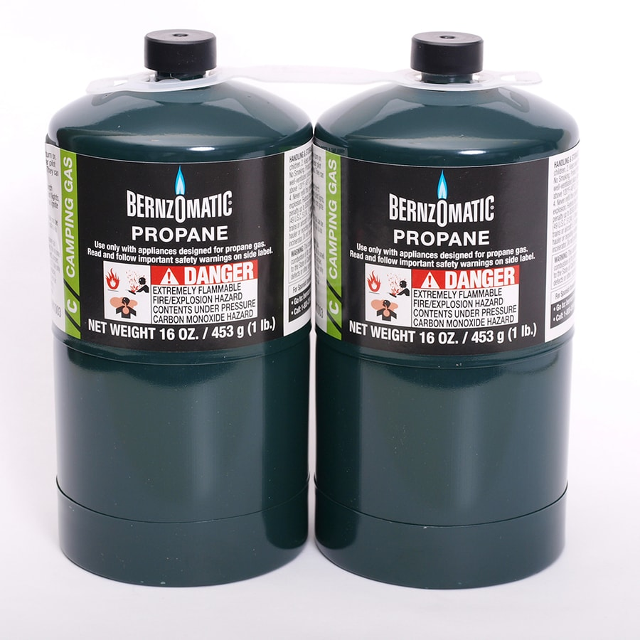 Worthington Pro Grade 32-oz 2-Pack Pre-Filled Propane Tanks