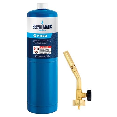 kesoto Brass Pencil Flame Propane Torch Head Gas Bottle