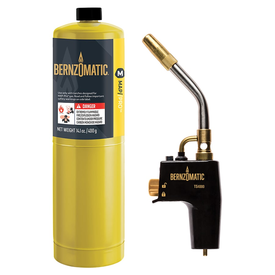 BernzOmatic Hard Soldering, Brazing, and Light Duty Tasks Handheld Torch Head