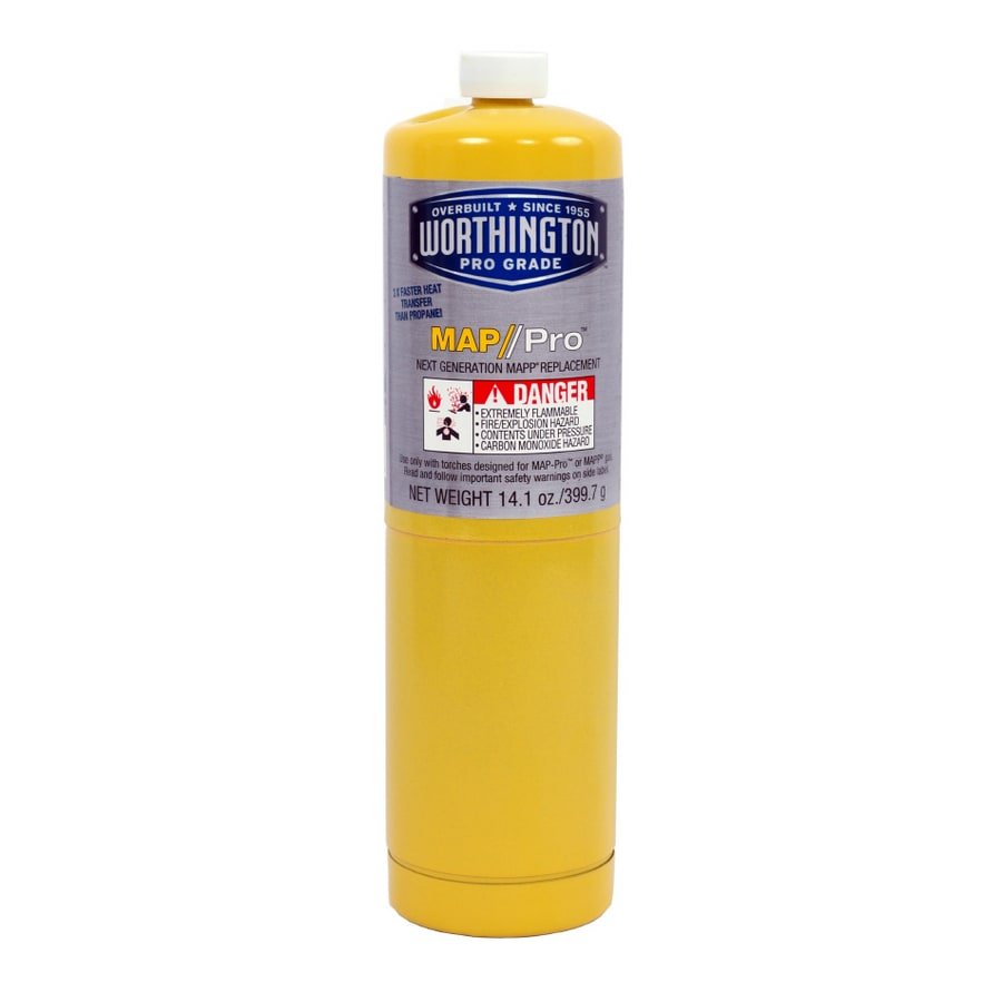 Shop Worthington Cylinders Oz MapPro Gas Cylinder At Lowescom - Gas map