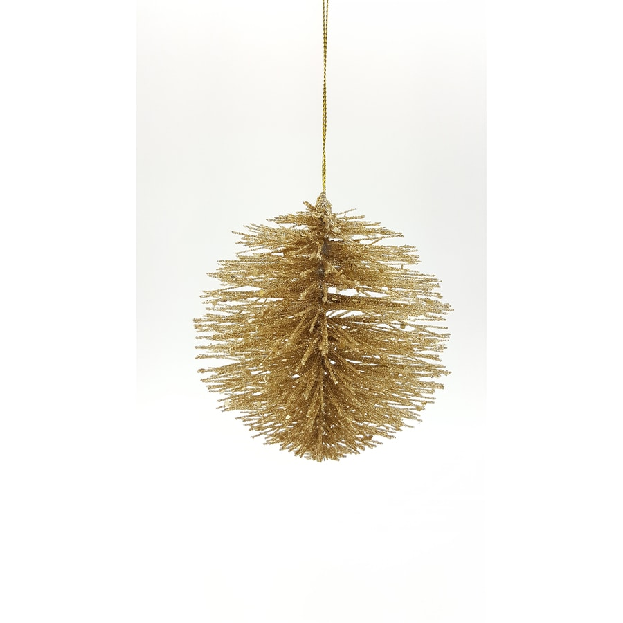 Holiday Living Gold Ball Ornament