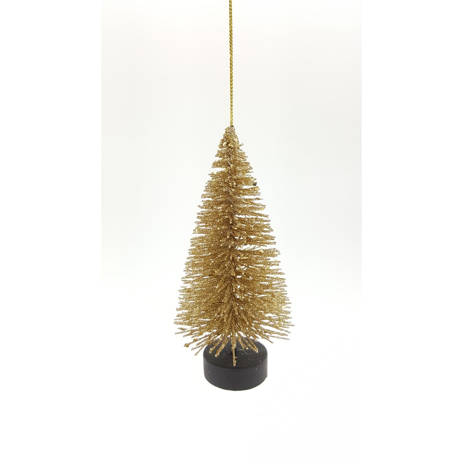 Holiday Living Gold Christmas Tree Ornament