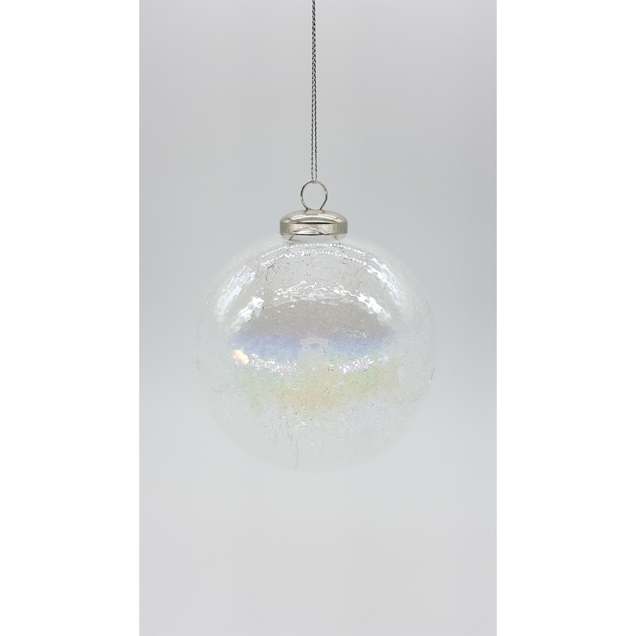 allen + roth Clear Ball Ornament