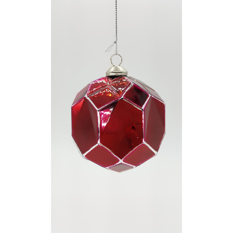 allen + roth Red Ball Ornament
