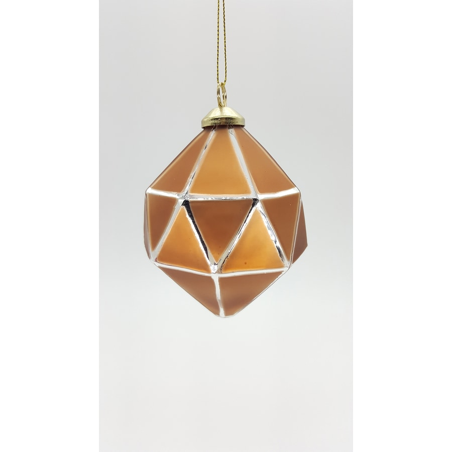 allen + roth Copper Ball Ornament