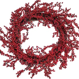 Holiday Living 30-in Red Berry Artificial Christmas Wreath