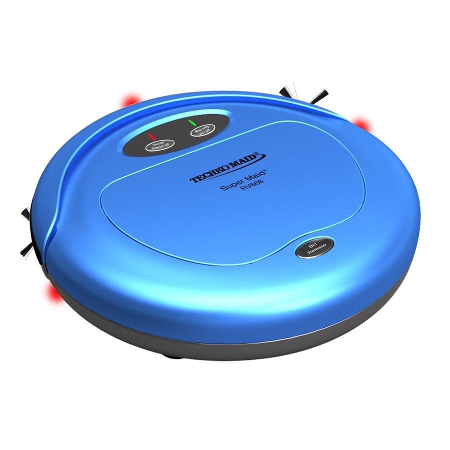 TECHKO 3-In-1 High Speed Sweeper/Vacuum/Mop Wet/Dry Option Robotic Vacuum