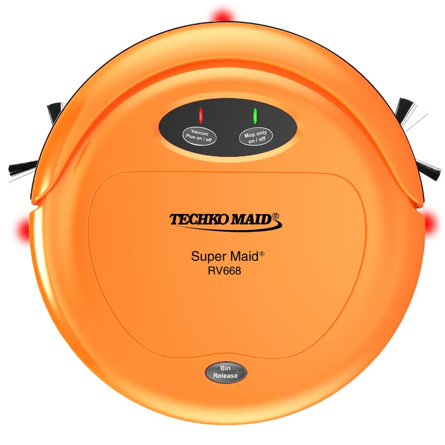 TECHKO 3-In-1 High Speed Sweeper/Vacuum/Mop Wet-Dry Option Robotic Vacuum