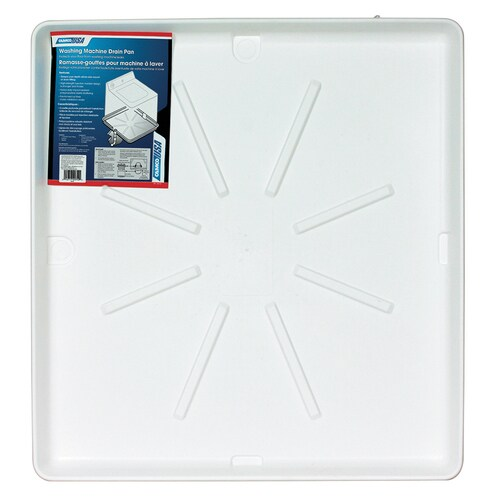 Camco Washing Machine Drain Pan White In The Washer Parts Department At Lowes Com