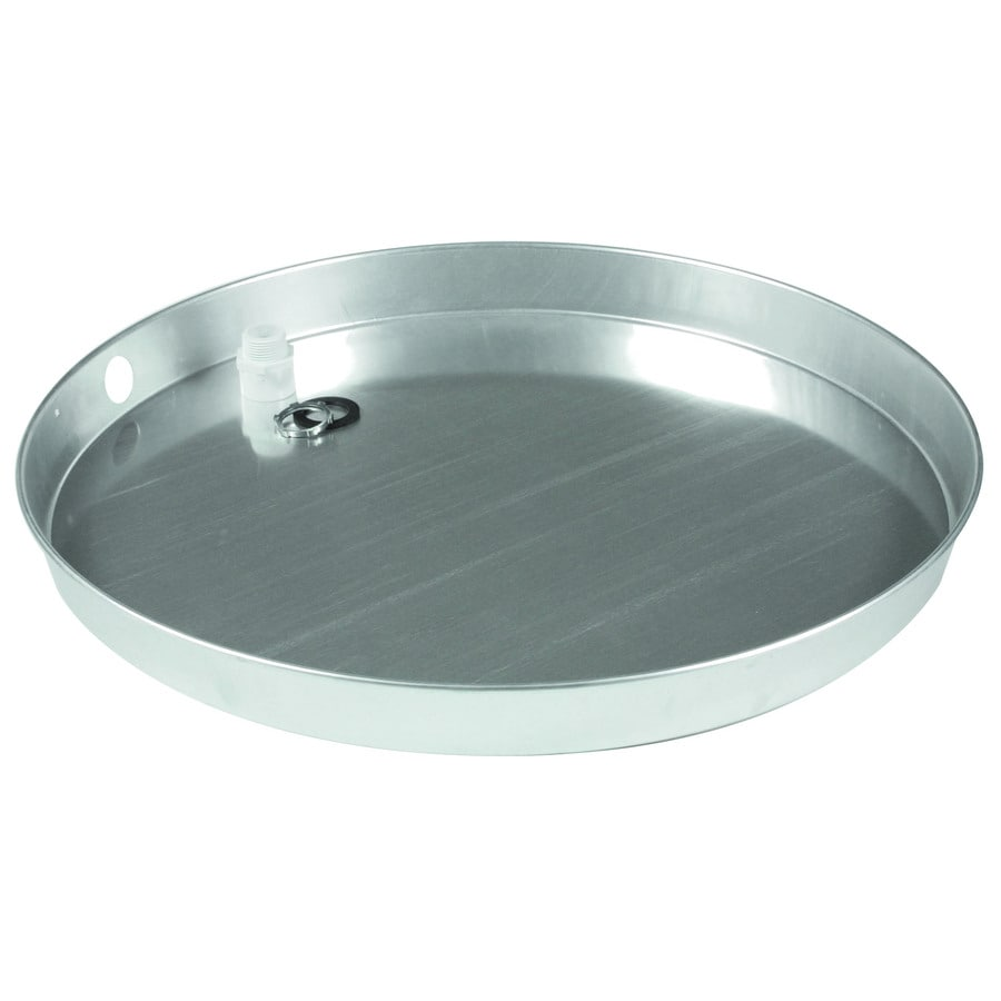 Camco Aluminum Water Heater Drain Pan With Fitting At
