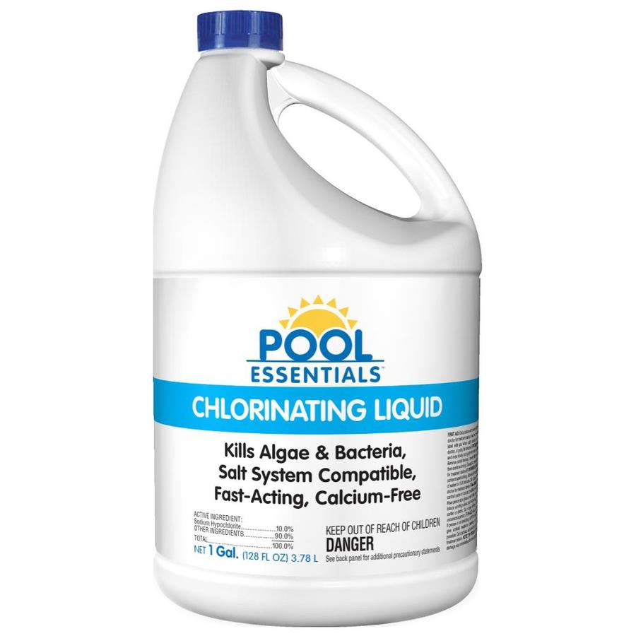 Salt or chlorine pool - Pool Essentials 1 Gallon Liquid Pool Chlorine
