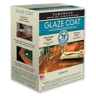 Famowood Glaze Coat Gloss Oil Based Lacquer Actual Net