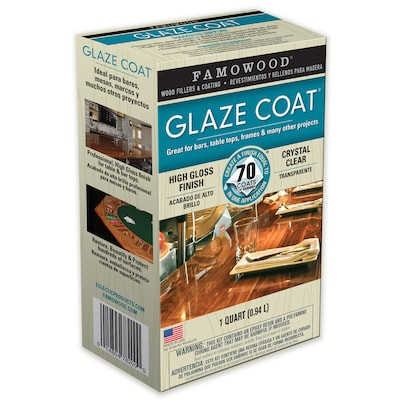 Famowood Glaze Coat Gloss Oil-based Lacquer (Actual Net