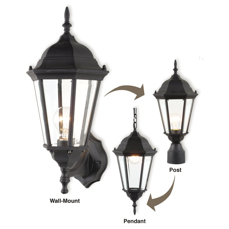 Royce Lighting 3-In-1 Convertible Outdoor Lantern