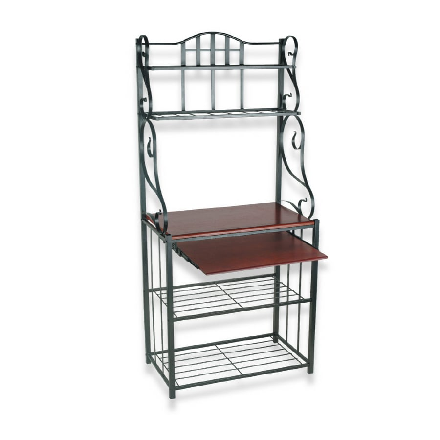 Shop Royce Lighting Black Bakers Rack At Lowes.com