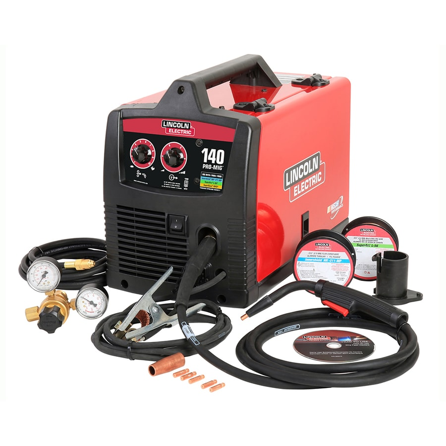 regulator feed machines wire and welders gas mig cored hand flux shield home welding handy the amp p electric with hose gun lincoln depot welder