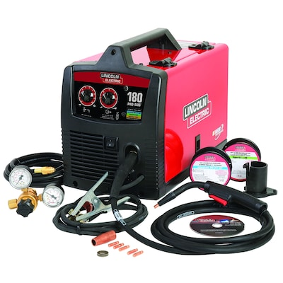 230-Volt 180-Amp Mig Flux-cored Wire Feed Welder on