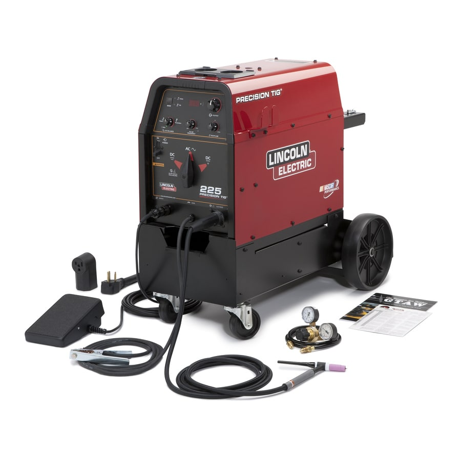 Lincoln Electric 240-Volt Air Cooled TIG Welder