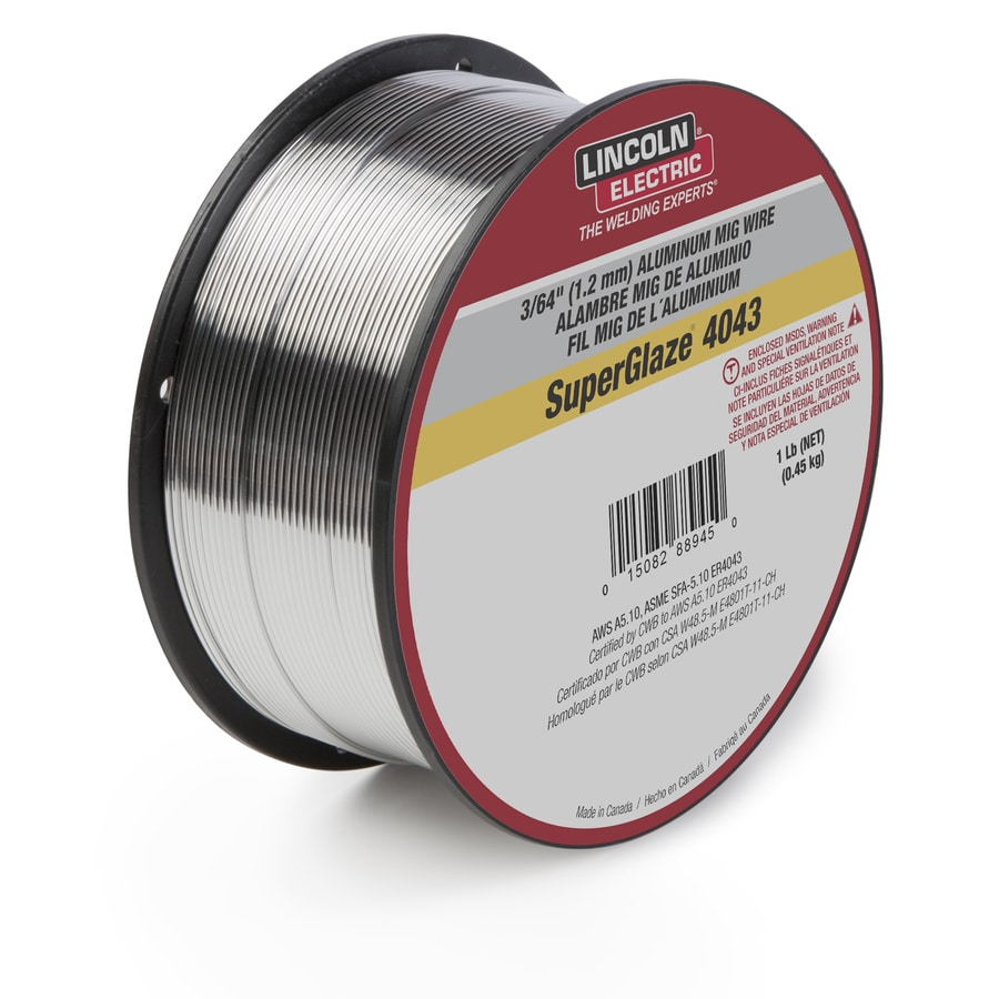 Shop Lincoln Electric 1-lb 0.035-in All Positions Mig Wire at Lowes.com