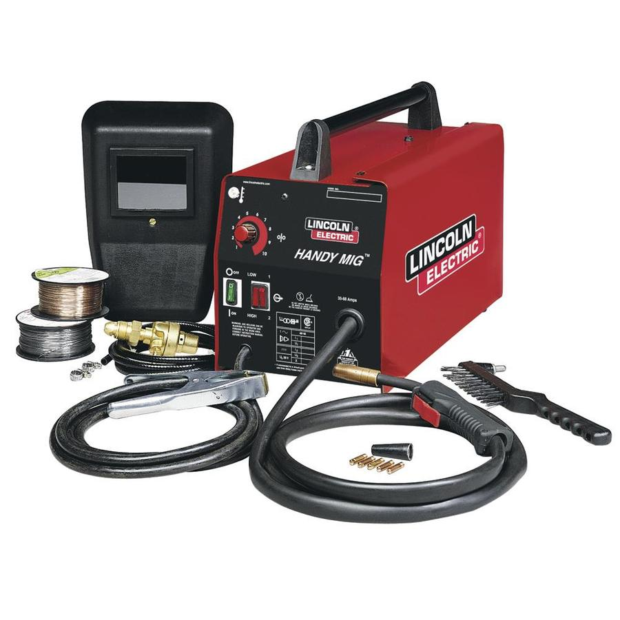 Shop lincoln electric 120 volt mig flux cored wire feed welder at lincoln electric 120 volt mig flux cored wire feed welder greentooth Images