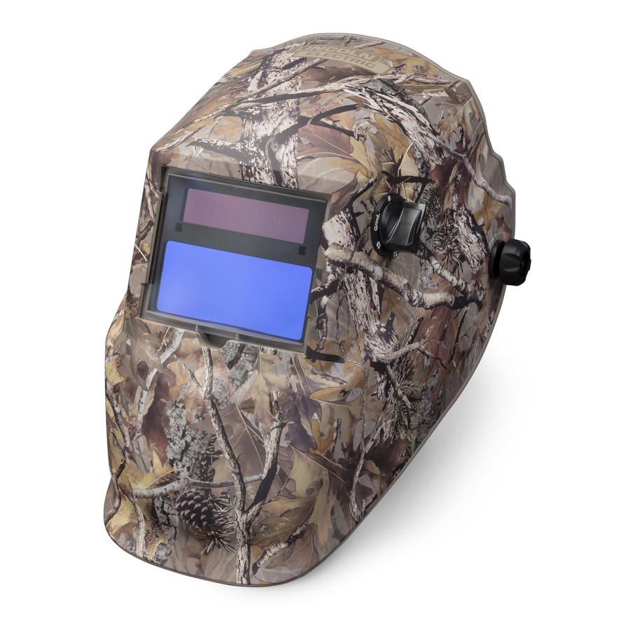 Lincoln Electric Auto Darkening Camo Variable Shade Brown