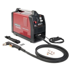 Shop welders cutters at lowes lincoln electric 240 volt 100 psi plasma cutter with air compressor sciox Choice Image