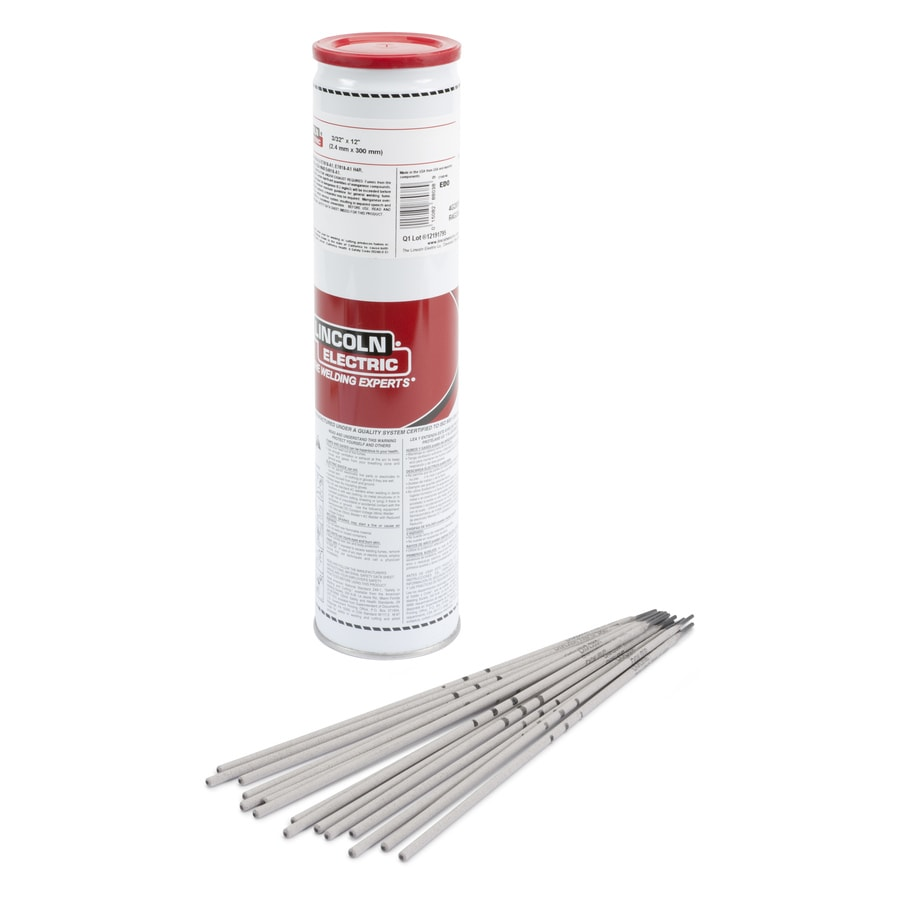 Lincoln Electric 8-lbs 3/32-in E308L Horizontal and Flat Stick Electrode Welding Sticks