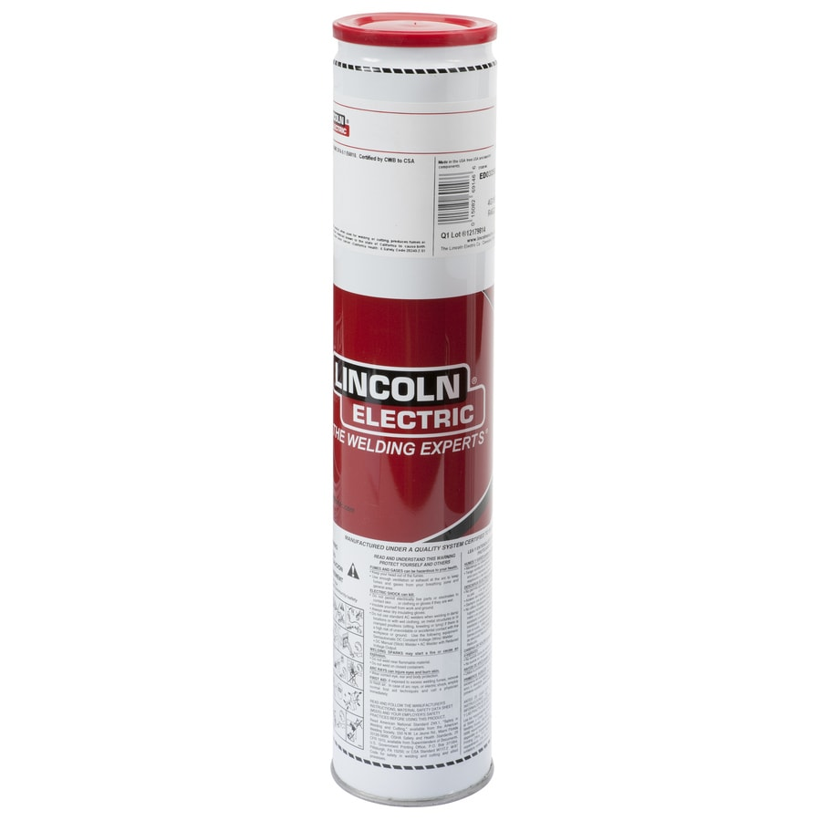 Lincoln Electric 10-lbs 1/8-in E308L Horizontal and Flat Stick Electrode Welding Sticks