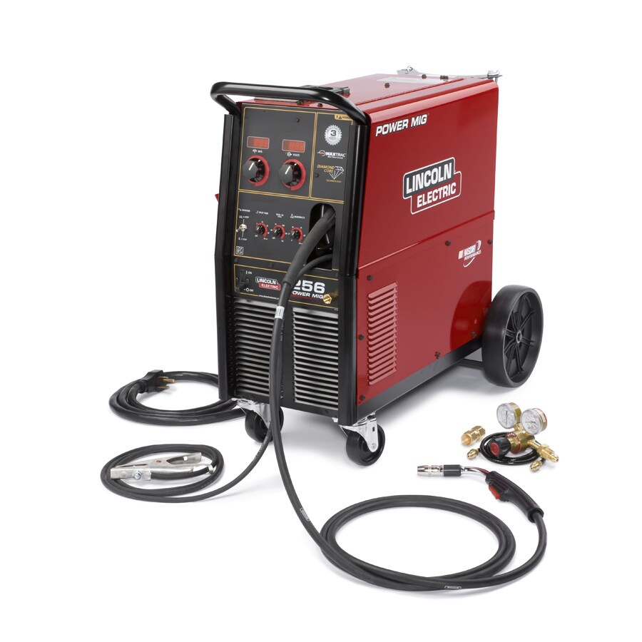 Lincoln Electric 240 Volt 300 Amp Mig Flux Cored Wire Feed Welder
