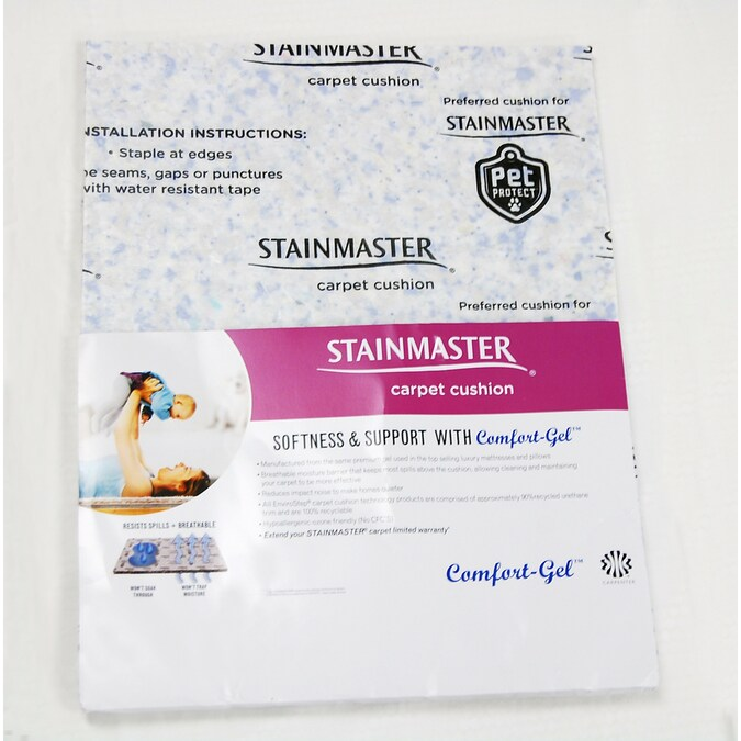 Stainmaster 12 7mm Rebond Carpet Padding In The Carpet Padding Department At Lowes Com